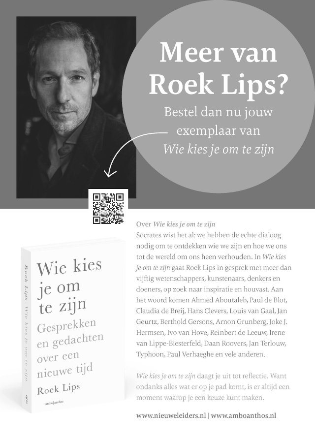 Boek - Wie kies je om te zijn - Roek Lips